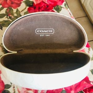 Coach sunglasses case